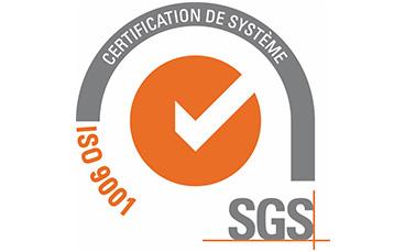 ASTI Sérigraphie : certification SGS, certification de système et certification ISO9001